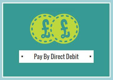 Pay Rent via Direct Debit Logo