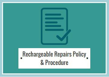 Rechargable Repairs Policy Logo